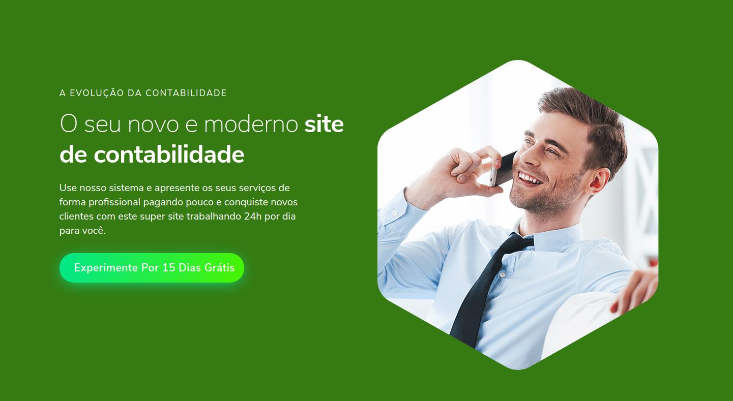criação de site para contabilidade