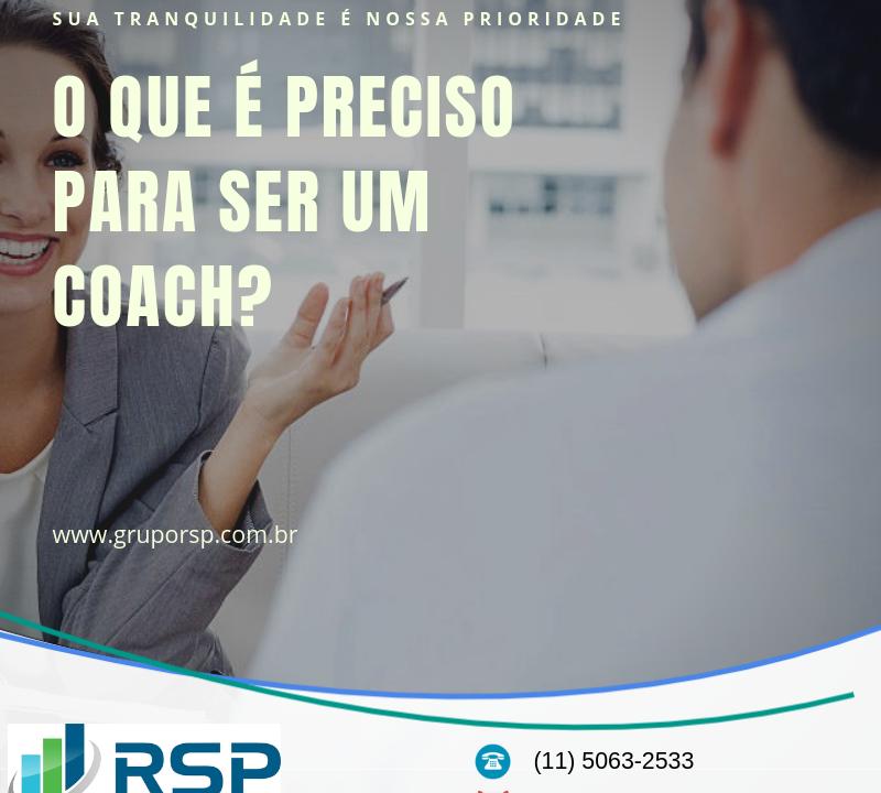 O que é preciso para ser um Coach? 12