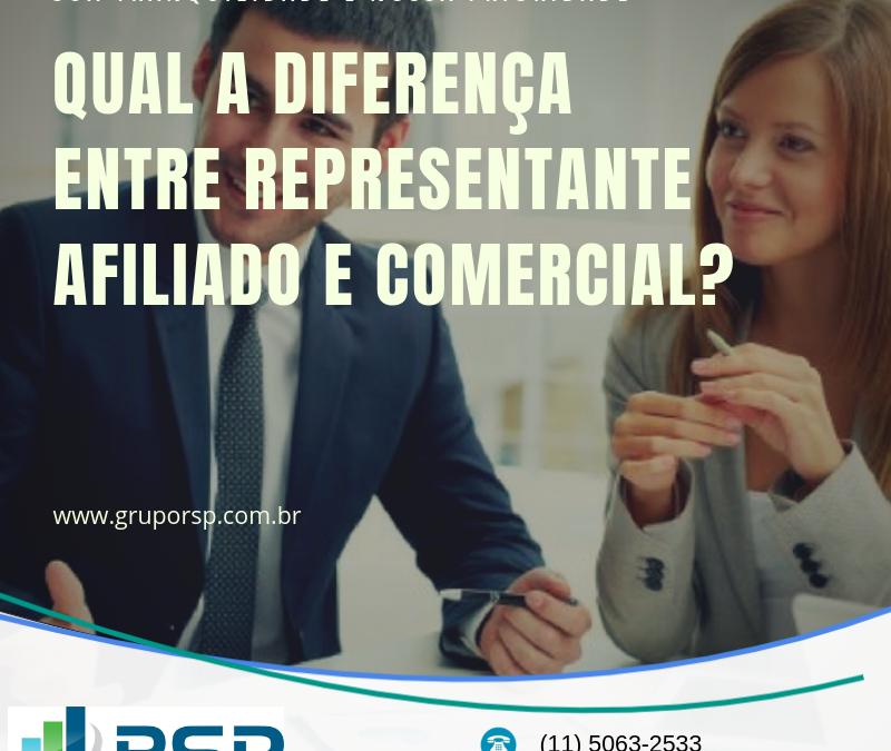 Qual a diferença entre representante afiliado e comercial? 2