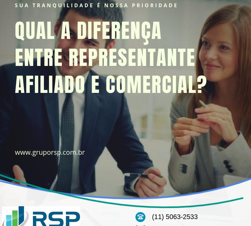 Qual a diferença entre representante afiliado e comercial? 13